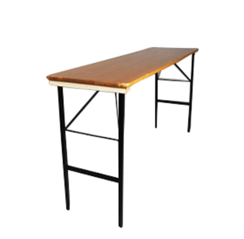 beer garden bar height rectangle table