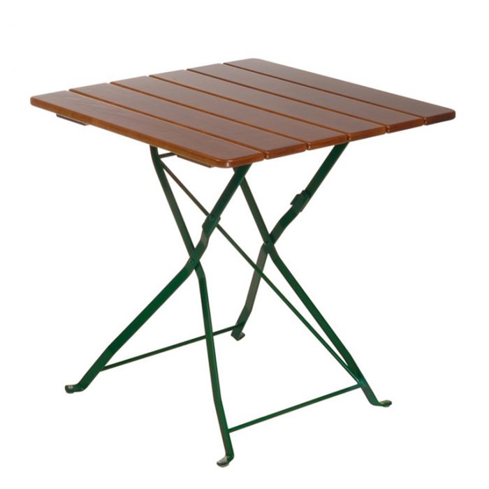 beer garden bistro square table