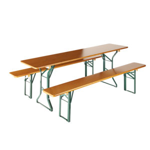 beer garden table bench comfort frames