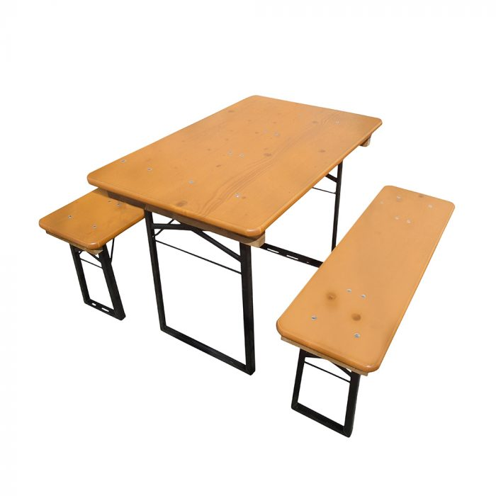 Beer Garden Table Benches Balcony