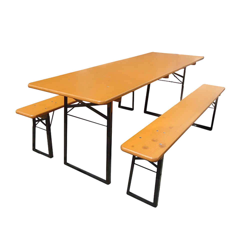 Beer Garden Table Benches Wide Table