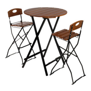 beer garden bar height table stools
