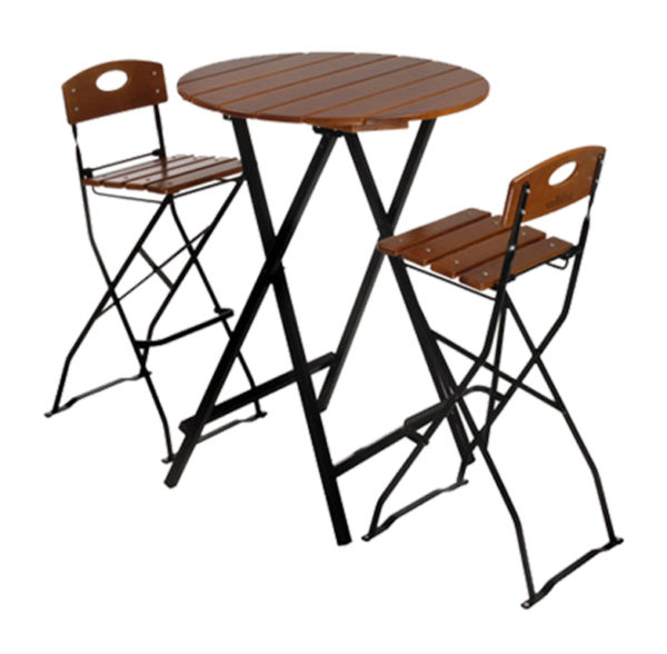 beer garden bar height table stools