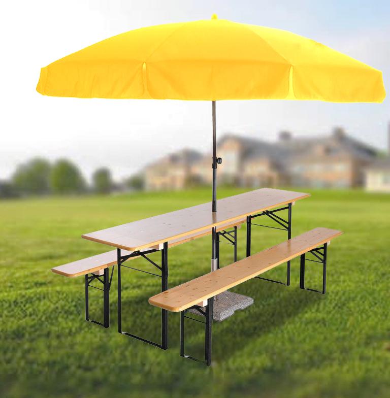 Beer Garden Set Amp Round Umbrella Beer Garden Furniture
