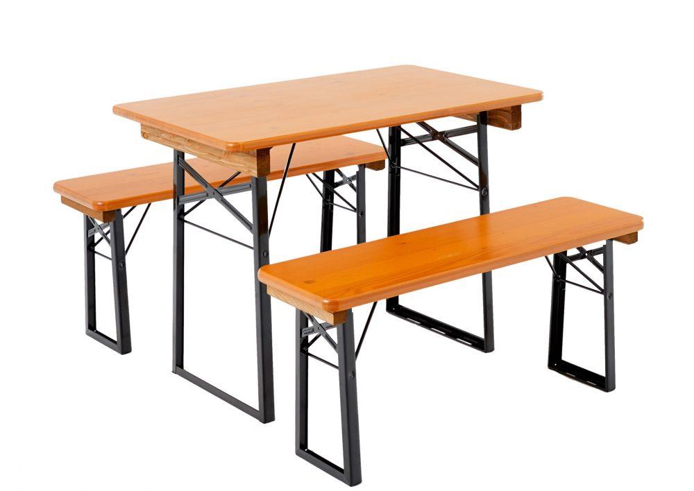 Balcony Table Bench Set
