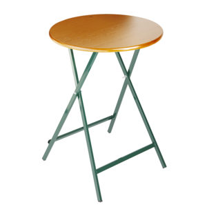 beer garden table bench bar height round
