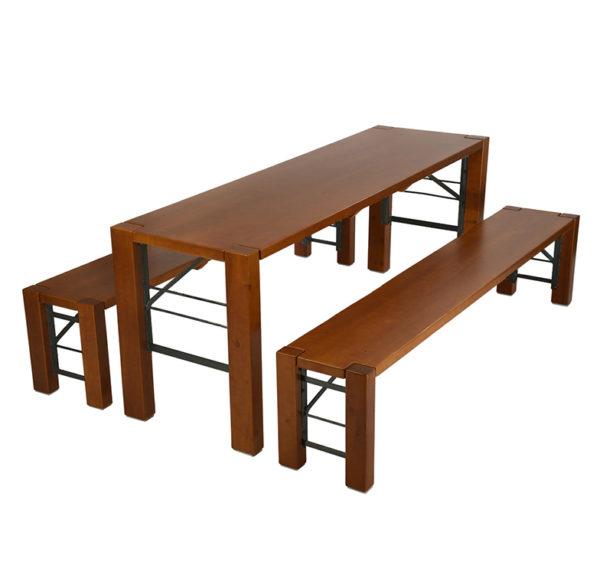 beer garden table bench