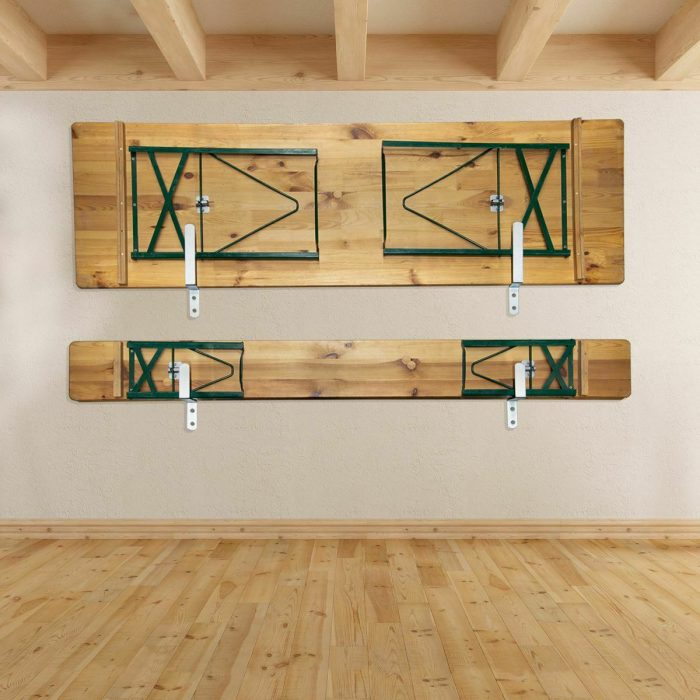 Wall Holder Tables and Benches