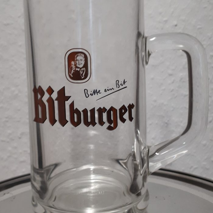 Bitburger Beer Mug