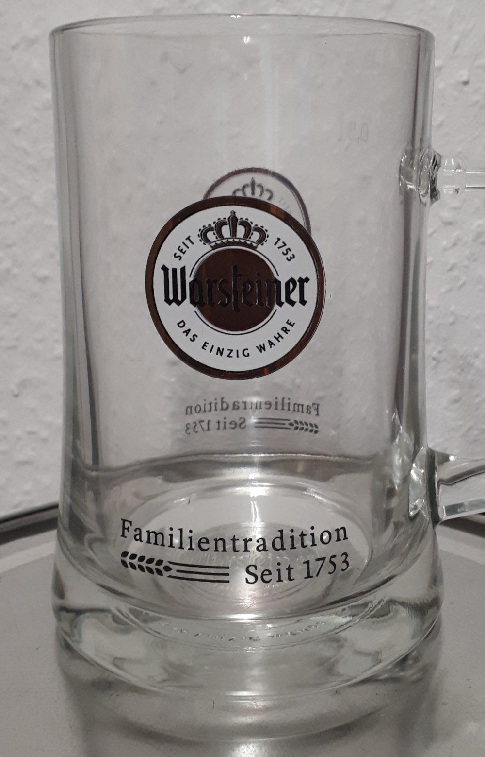 Warsteiner-Mugs