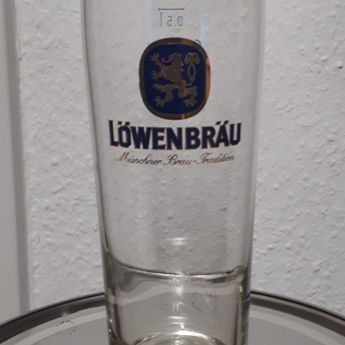 Lowenbrau Beer Glass