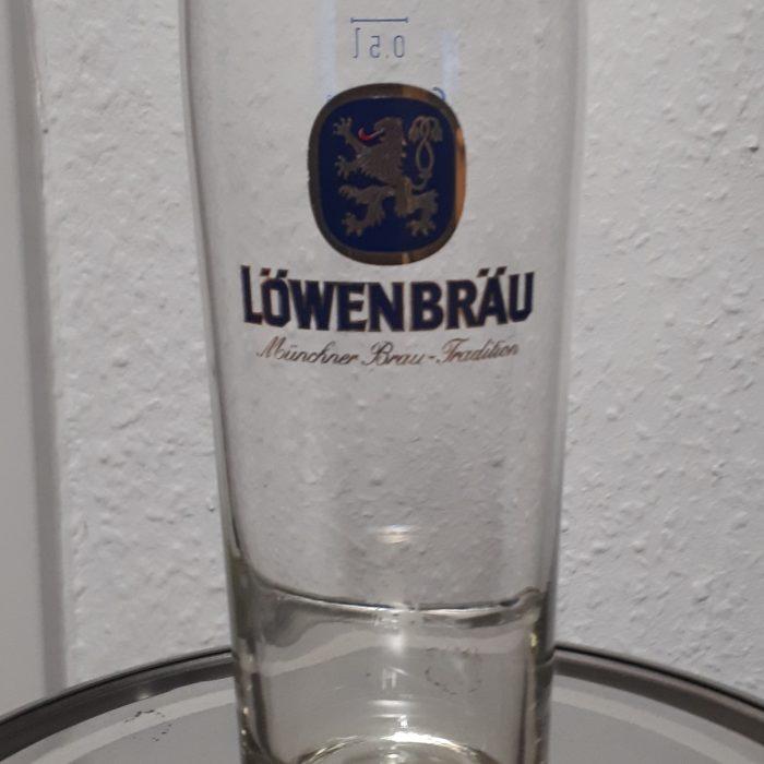 Lowenbrau Beer Glass