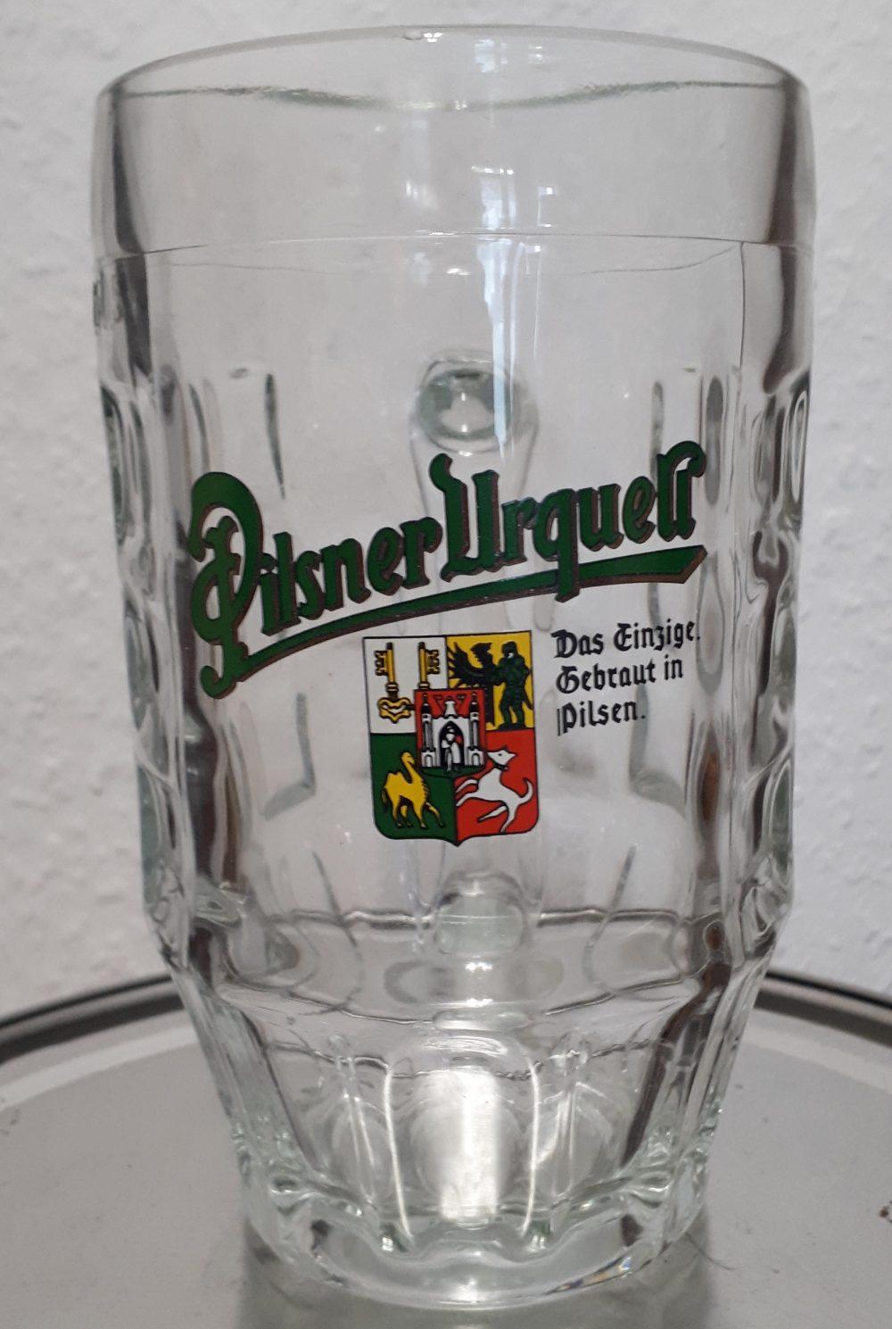 Pilsner Urquell Beer Mug
