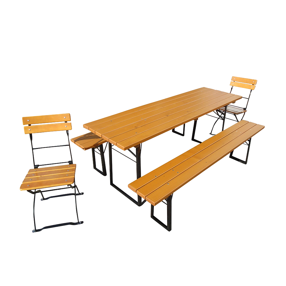 beer garden table chairs