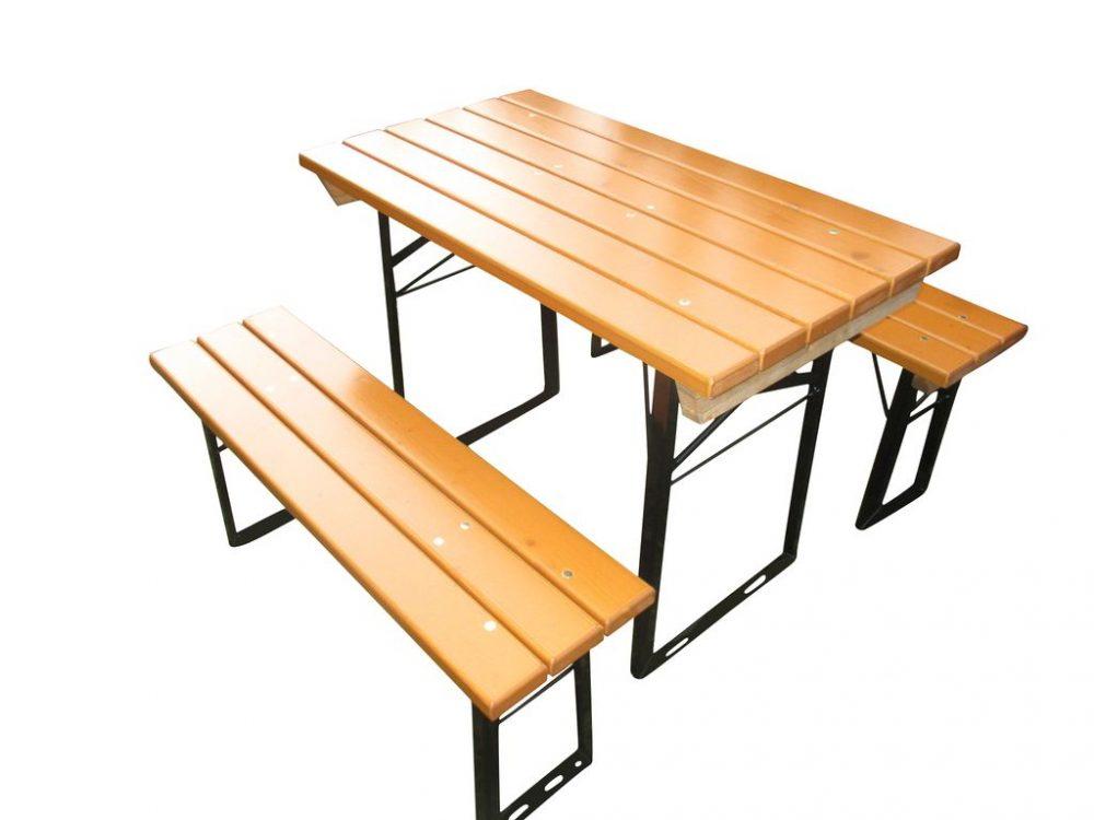 Beer Garden Table Benches