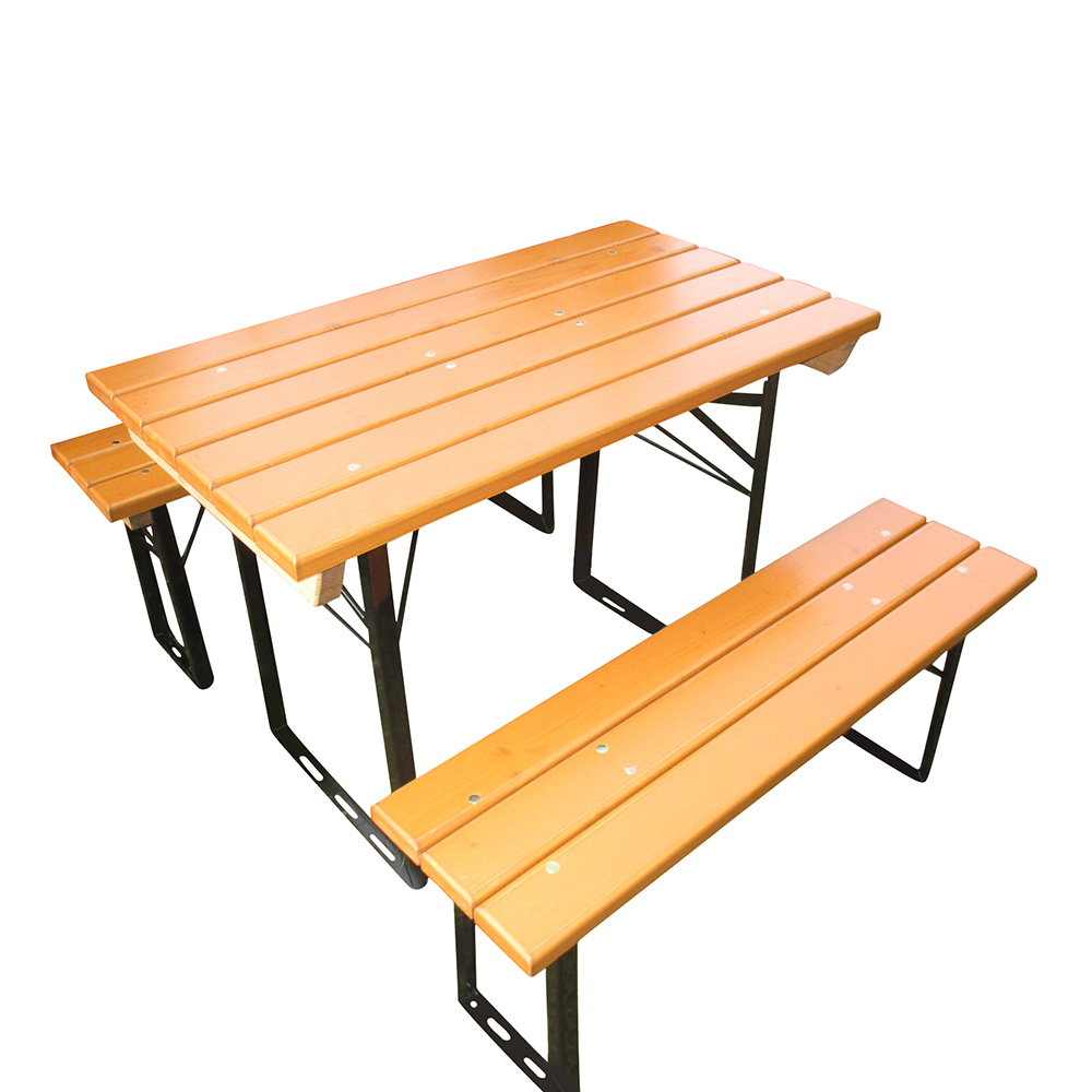 Beer Garden Table Benches Balcony Slatted